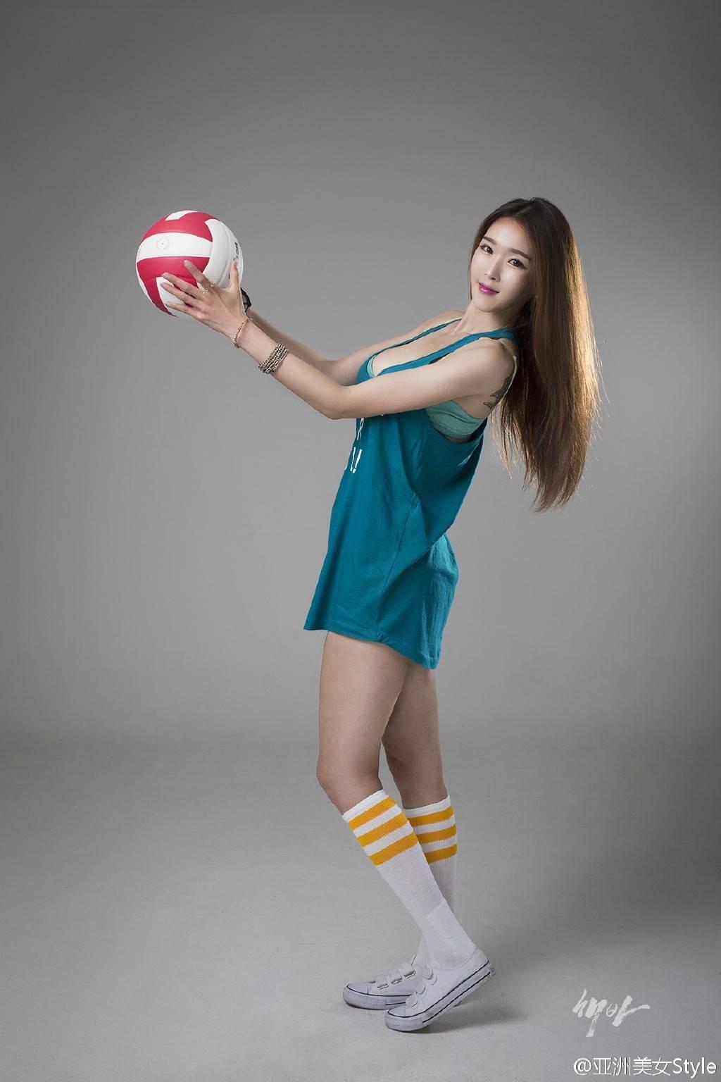 排球宝贝美女写真